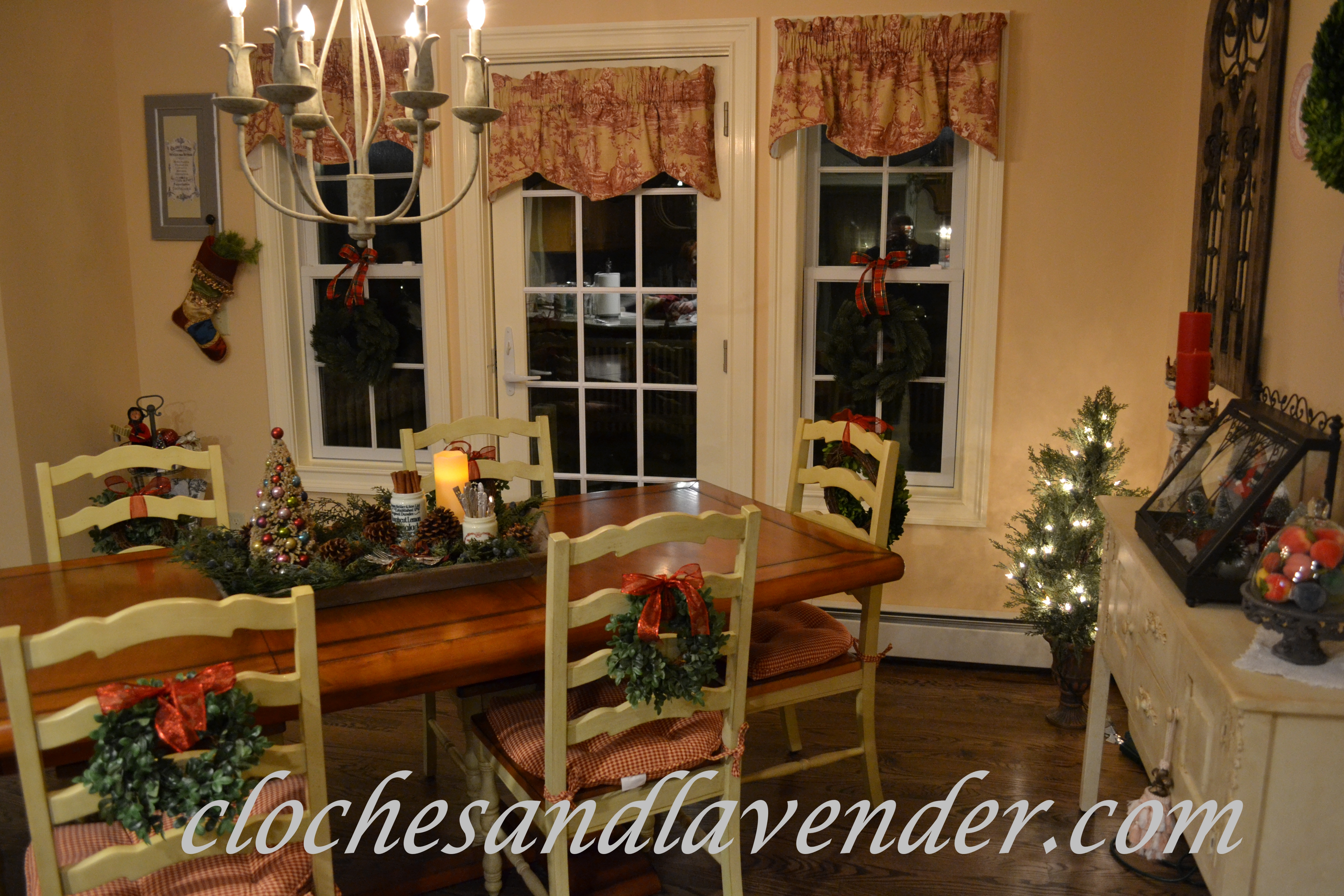 Christmas Kitchen Part One Cloches Lavender