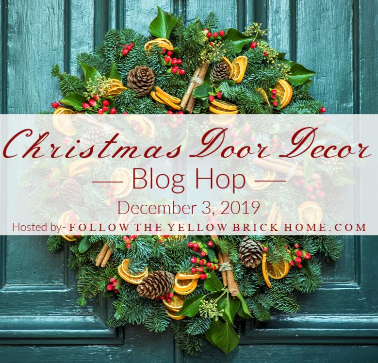 Christmas Door Decor Blog Hop 19